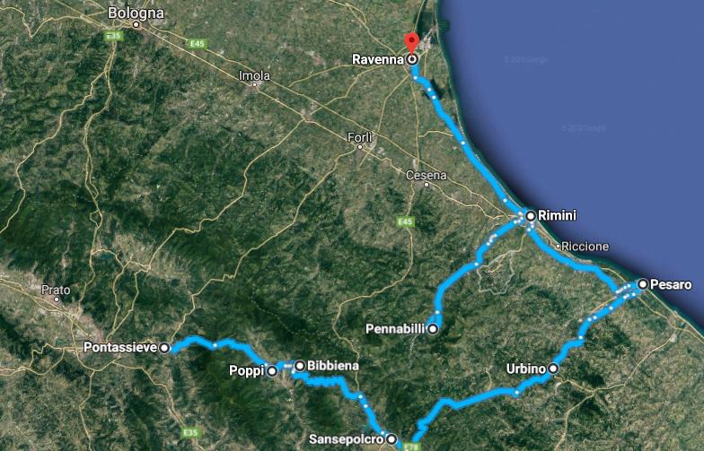 Firenze-Ravenna